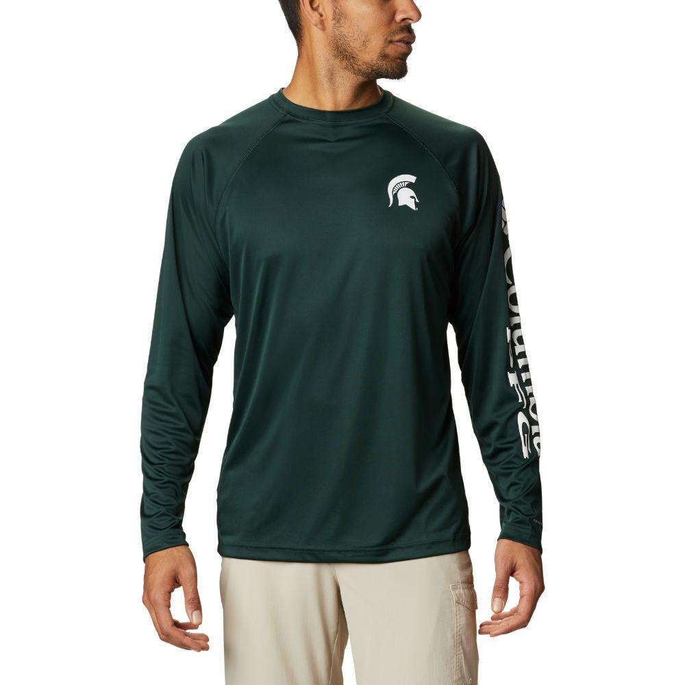 Michigan State Columbia Men's Terminal Tackle Long Sleeve Shirt