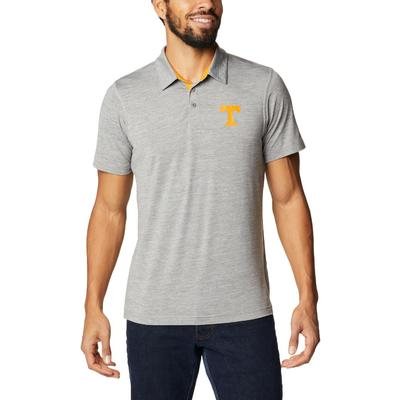 Tennessee Columbia Men's Tech Trail Polo