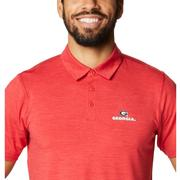 Georgia Columbia Men's Tech Trail Polo