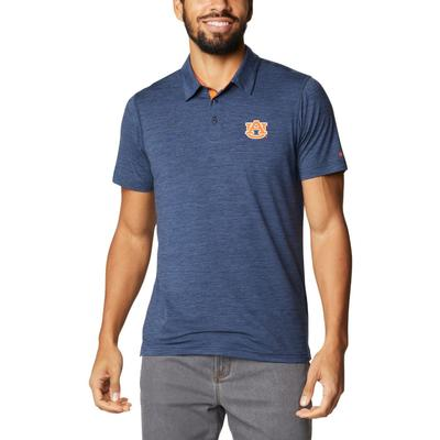 Auburn Columbia Men's Tech Trail Polo