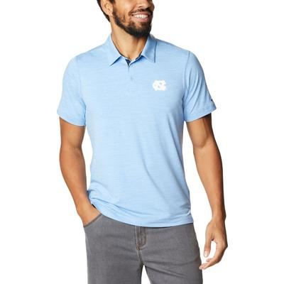 UNC Columbia Men's Tech Trail Polo