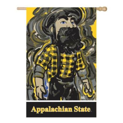 Appalachian State Justin Patten House Flag