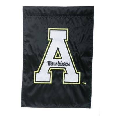 Appalachian State Block A Garden Flag