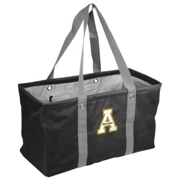 Appalachian State Cross Hatch Picnic Caddy
