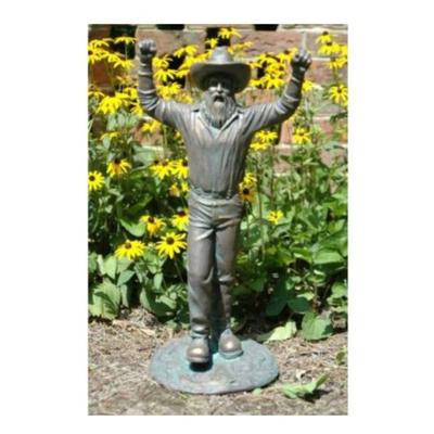 Appalachian State Mountaineer Bronze Statue