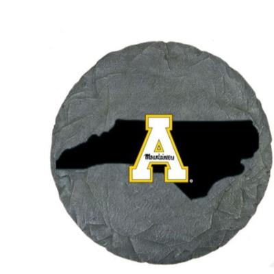 Appalachian State State Map Stepping Stone