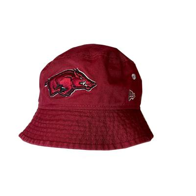 Arkansas New Era Bucket Hat w/ Removable Strap