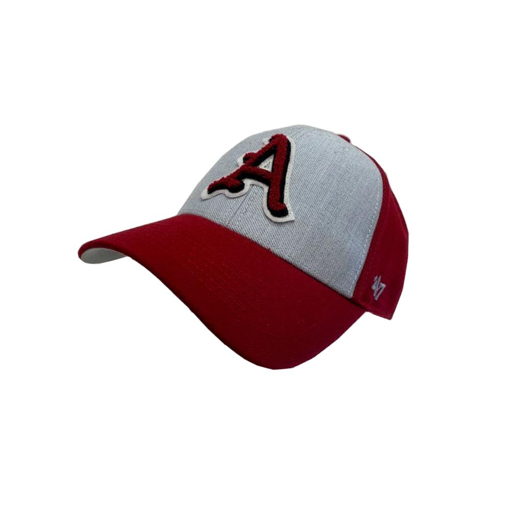 Arkansas 47 ' Brand Felt Applique Adjustable Hat