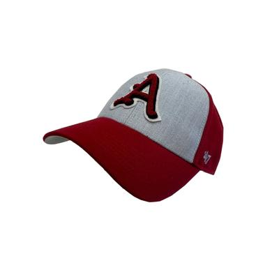 Arkansas 47' Brand Felt Applique Adjustable Hat