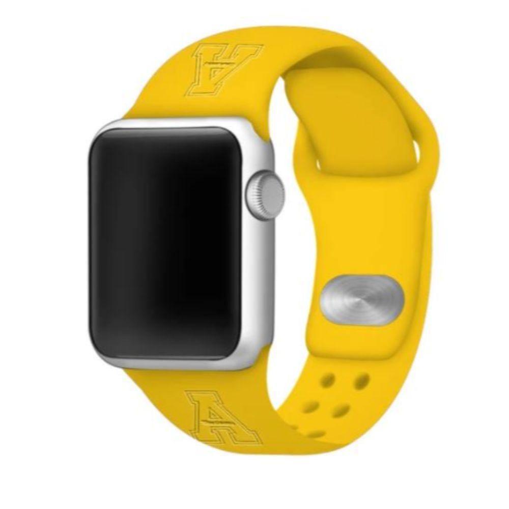 Appalachian State Apple Watch Silicon Sport Band 38/40 Mm