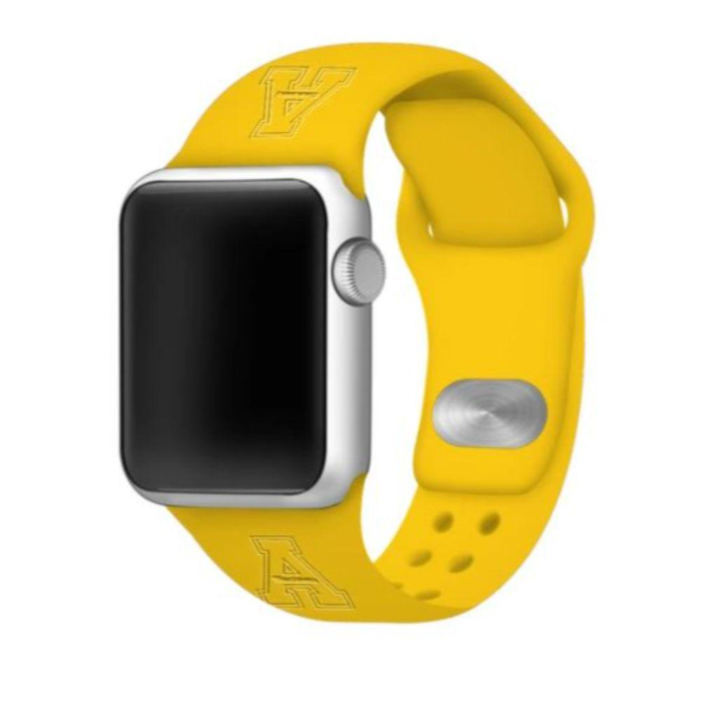 Appalachian State Apple Watch Silicon Sport Band 42/44 Mm