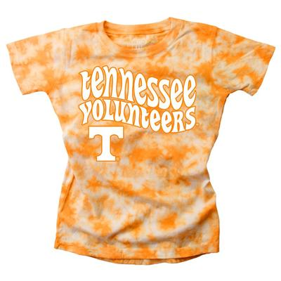 Tennessee Wes and Willy YOUTH Tie Dye Retro Tee