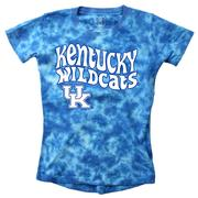 Kentucky Wes And Willy Girls Tie Dye Retro Tee