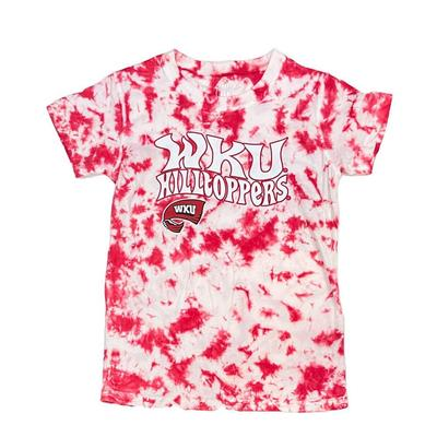 Western Kentucky Wes and Willy YOUTH Tie Dye Retro Tee