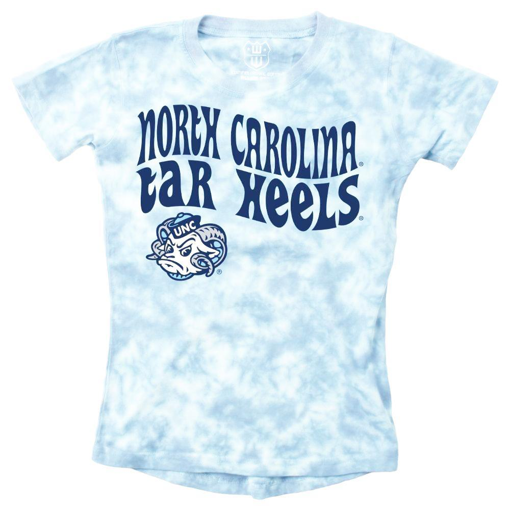 Unc Wes And Willy Girls Tie Dye Retro Tee