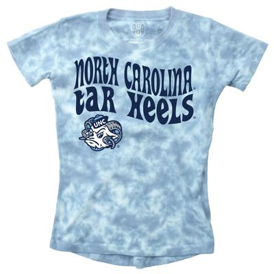UNC Wes and Willy YOUTH Tie Dye Retro Tee