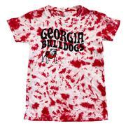 Georgia Wes & Willy Girls Tie Dye Retro Tee