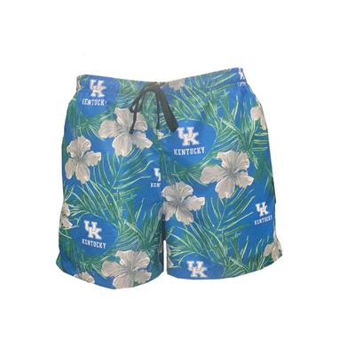 Kentucky Men's Floral Swim Shorts