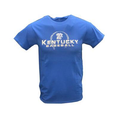 Kentucky Baseball Stitch Fade Short Sleeve Tee