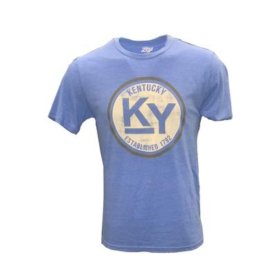 Kentucky Blue 84 Circle Triblend Short Sleeve Tee