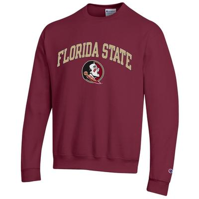Florida State Champion Arch Logo Fleece Crew