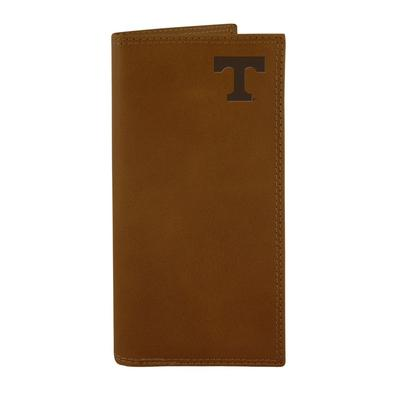Tennessee Leather Embossed Roper Wallet