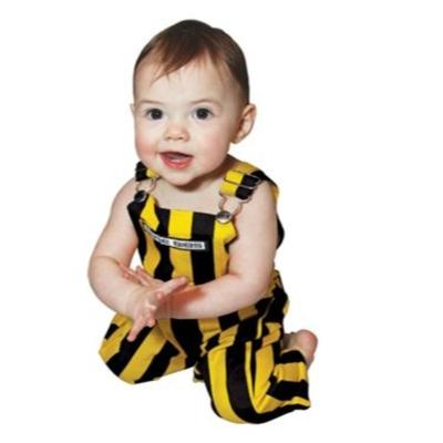 Appalachian State Infant Black and Gold Game Bibs