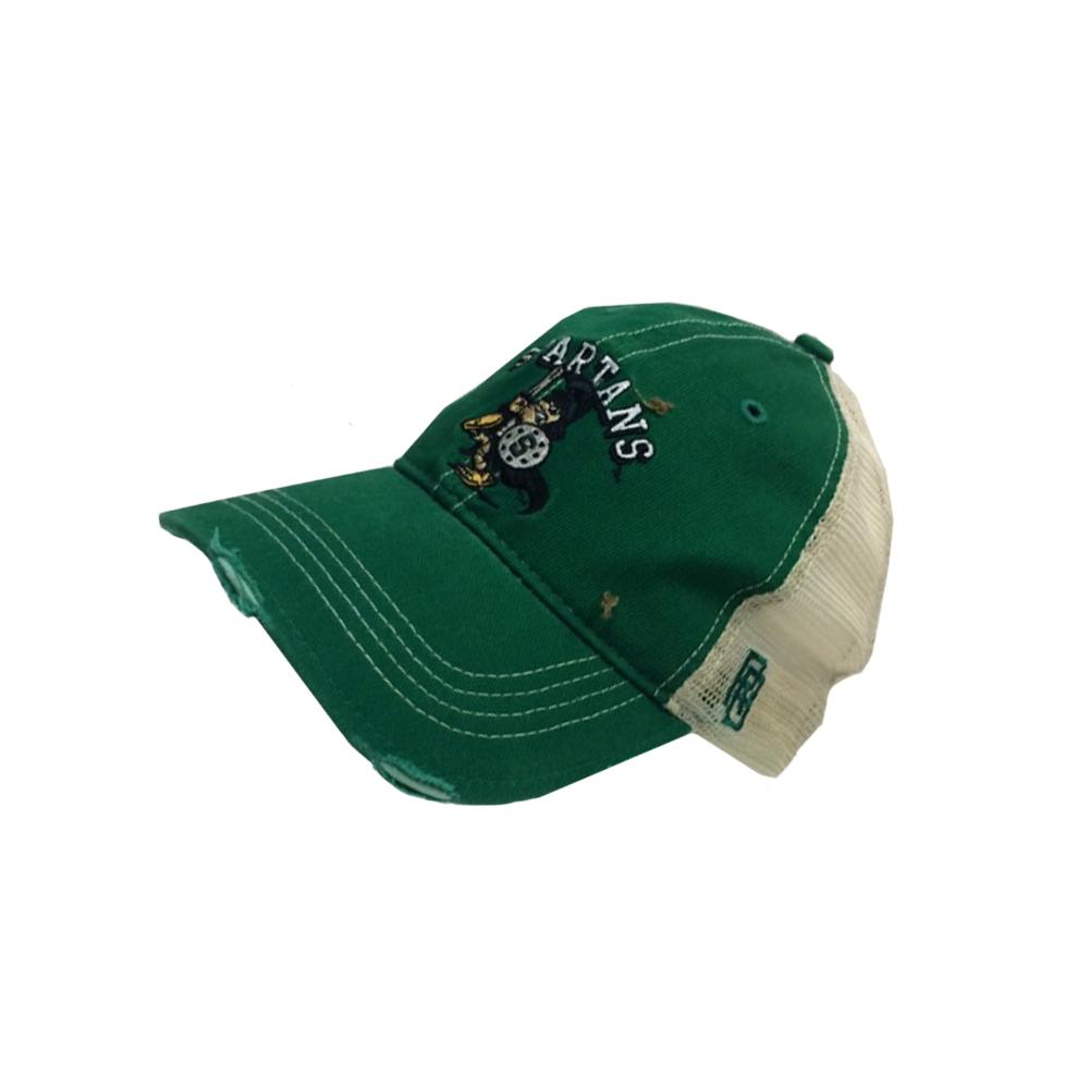 Michigan State Vault Arched Spartans Logo Hat
