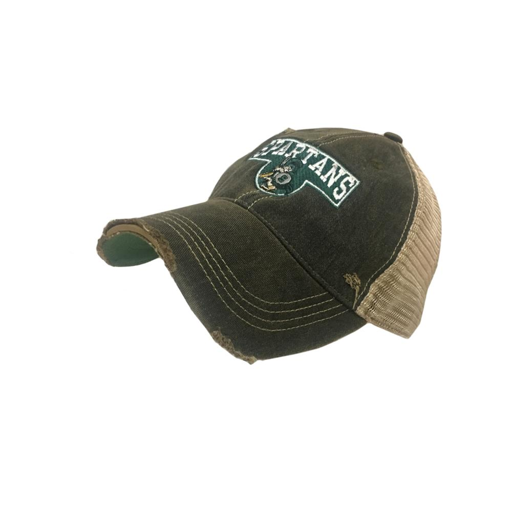 Michigan State Vault Smokey Stack With Sparty Hat
