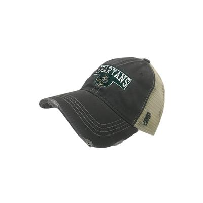 Michigan State Vault Smokey Stack with Sparty Hat CHARCOAL/MESH
