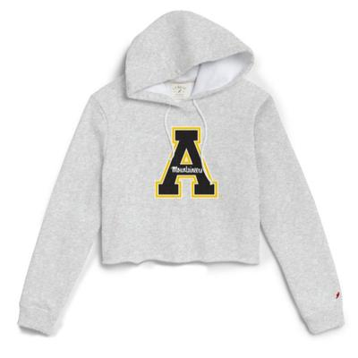 Appalachian State League Women's Block A Cropped Hoodie