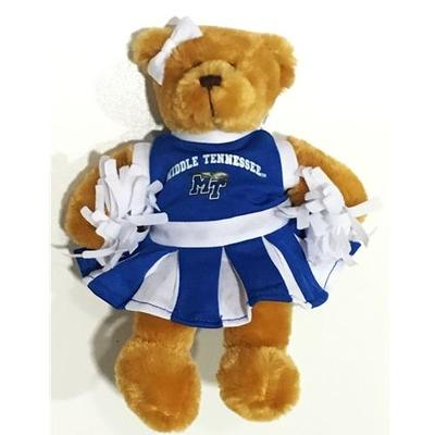 MTSU Plush Cheer Bear 4