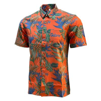 Florida Tellum and Chop Floral Hawaiian Shirt