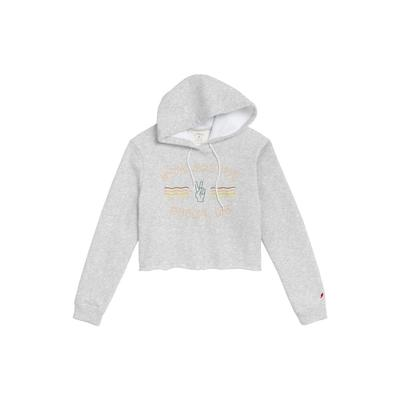 League Stay Groovy Cropped Hoodie