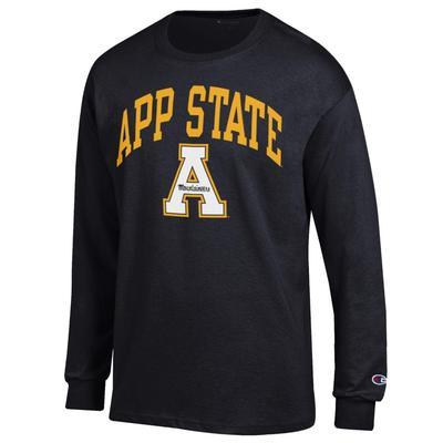 Appalachian State Champion Men's App State Long Sleeve Tee