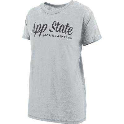 Appalachian State Pressbox Vintage Wash Aleena Tee