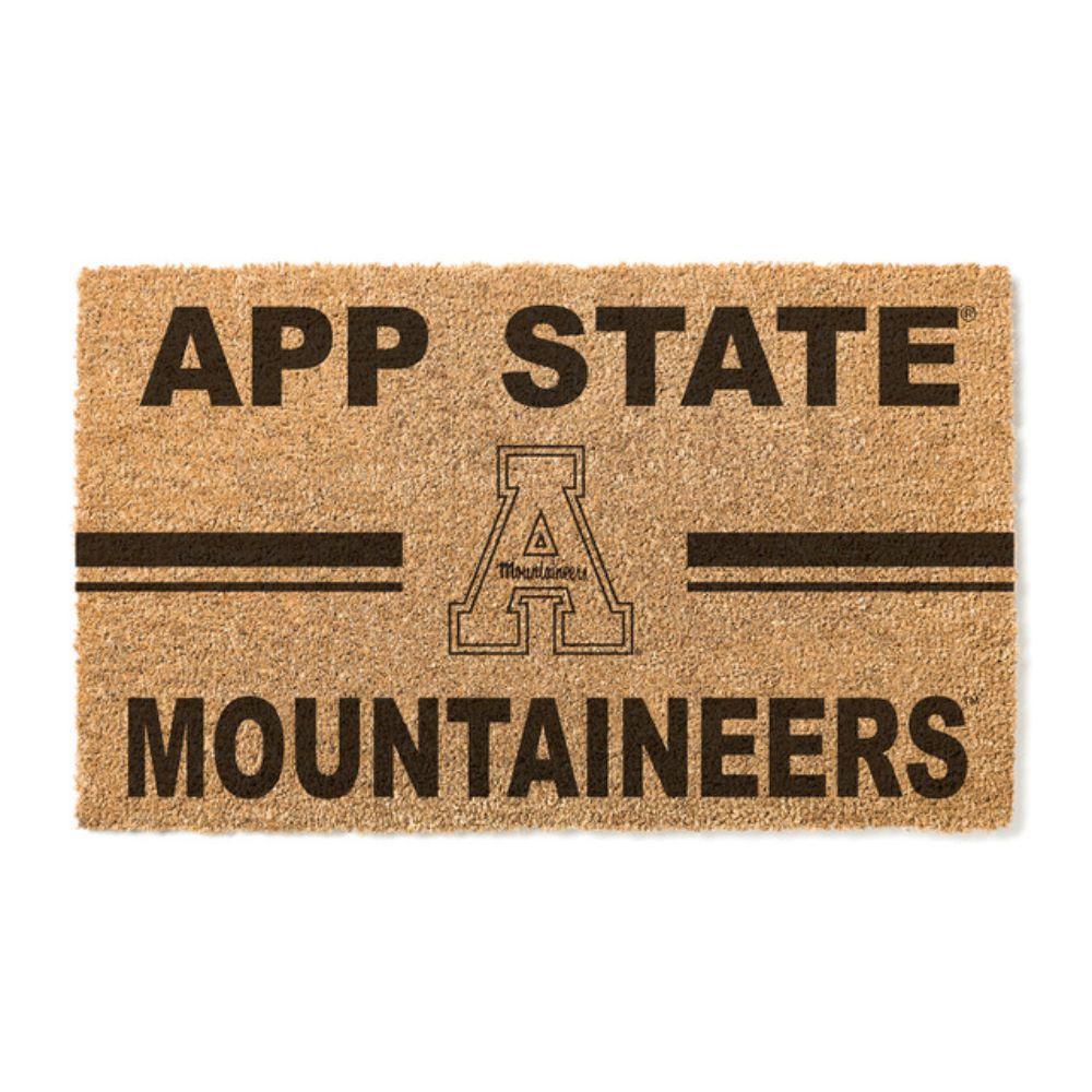 Appalachian State Team Logo Coconut Fiber Doormat