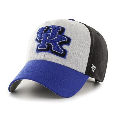 Kentucky 47' Brand Felt 3-Tone Adjustable Hat