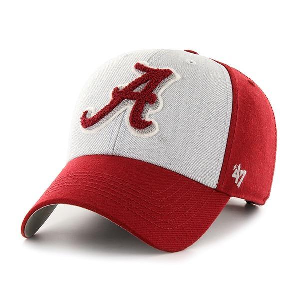 Alabama 47 ' Brand Felt 3- Tone Adjustable Hat