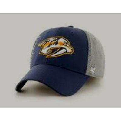 Nashville Predators 47' Brand Wycliff Contender Hat