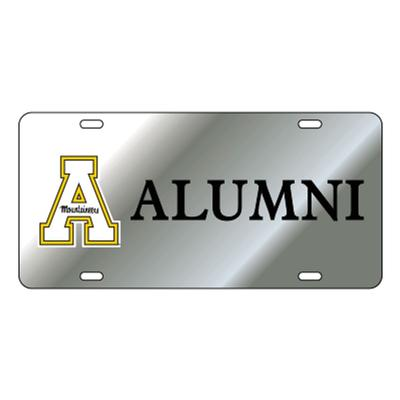 Appalachian State Silver Alumni License Plate