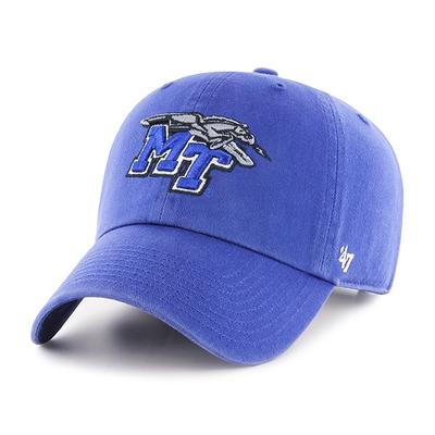 MTSU 47' Brand Clean Up Adjustable Hat