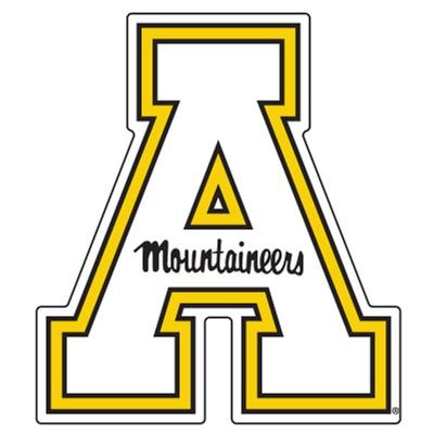 Appalachian State Block A Magnet 3