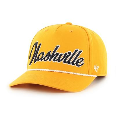 Nashville 47' Brand Rope Trim Adjustable Hat