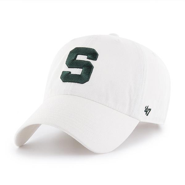 Michigan State 47 ' Brand Block S Adjustable Clean Up Hat