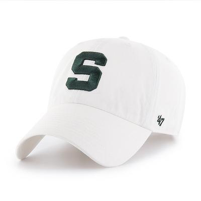 Michigan State 47' Brand Block S Adjustable Clean Up Hat