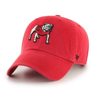 Georgia 47' Brand Standing Bulldog Adjustable Clean Up Hat
