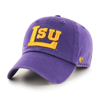 LSU 47' Brand Block L Adjustable Clean Up Hat