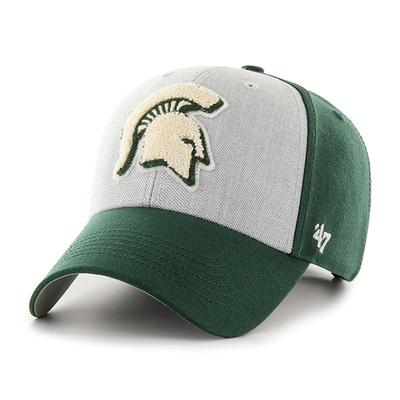 Michigan State 47' Brand Felt 3-Tone Adjustable Hat