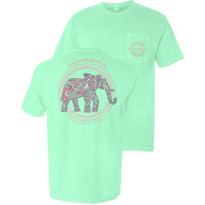 Alabama Women's Comfort Color Elephant T-Shirt